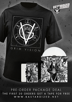 Grim Vision Package Deal Shirt & 7""