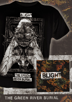 The Green River Burial 'blight' Package Deal Shirt & 7inch